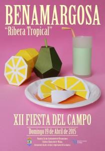 Original cartel para esta edición de la Fiesta del Campo de Benagarmosa