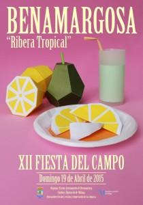 Original cartel para esta edición de la Fiesta del Campo.