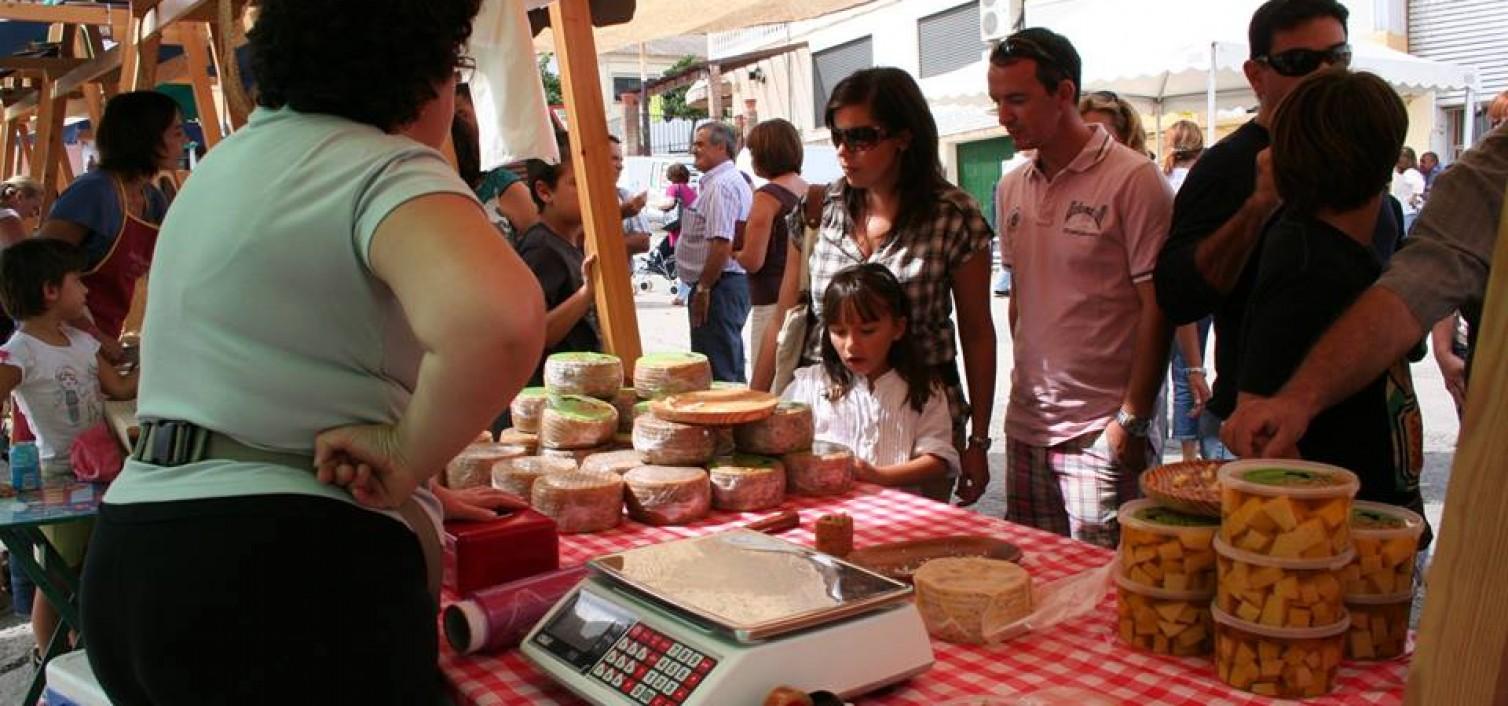 Mercado de quesos.