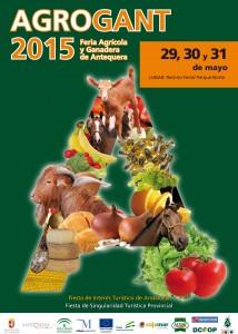 Cartel de la Feria Ganadera Agrogant 2015