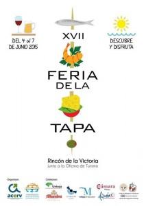 Cartel Feria de la Tapa Rincón de la Victoria 2015