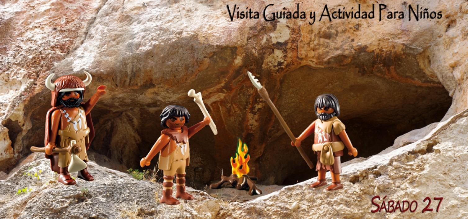 Cartel Ruta de la Prehistoria