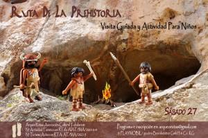 Arqueología para niños - La Araña (Málaga)