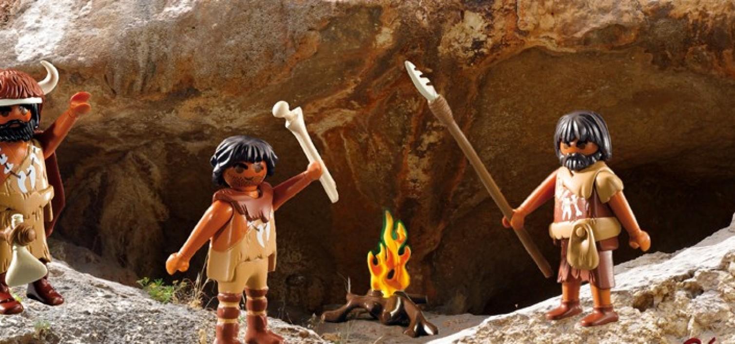 Arqueología para niños en los yacimientos de La Araña
