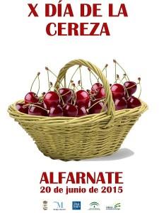 Cartel del Día de la Cereza de este año.