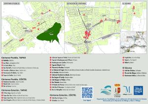 En los tapaportes habrá información sobre la ubicación de los establecimeintos.