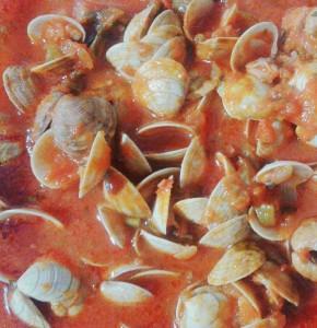 Un plato tradicional de la barriada malagueña del Palo.