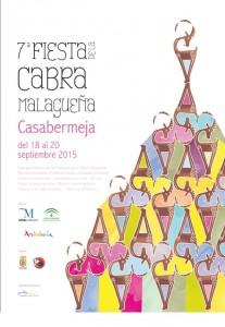 Cartel de esta edición de la Fiesta de la Cabra Malagueña.