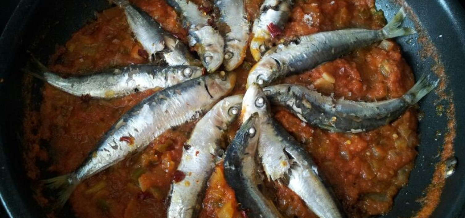 Receta de moraga de sardinas