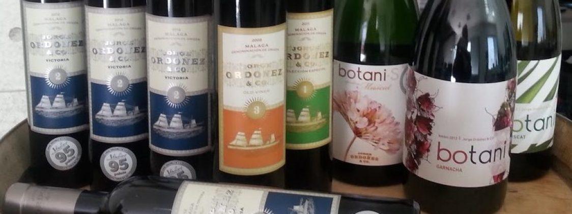 El vino dulce Victoria nº 2, en «A Taste of Spain»