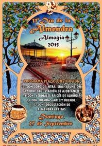 Cartel de esta edición del Día de la Almendra.