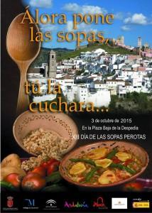 El cartel de las Sopas Perotas es todo un clásico del otoño.