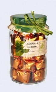 Con las castañas se hacen muchos productos elaborados, como bombones.