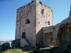 Este fin de semana habrá vistias guiadas al castillo.