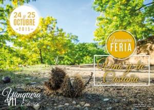 Cartel de la Fiesta de la Castaña en Yunquera 2015