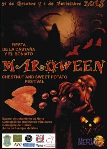 Cartel de Maroween 2015.
