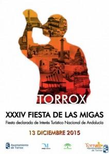 Cartel de la Fiesta de las Migas de Torrox 2015