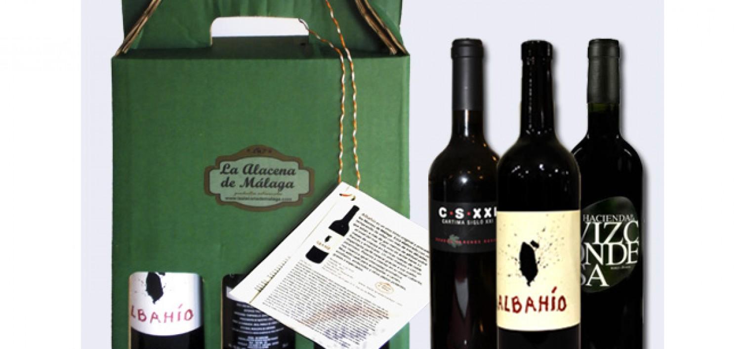 Pack de tres vinos malagueños – La Alacena de Málaga