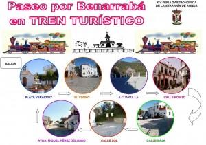 Tren turístico de Benarrabá