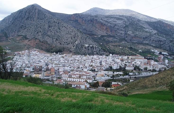 Vista del valle de Abdalajís