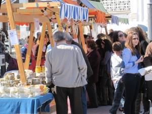 El mercado tendrá lugar en el Mirador de la Cancula.
