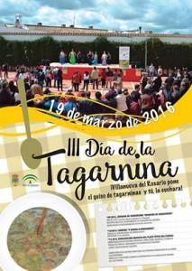 Cartel del Día de la Tagarnina 2016.