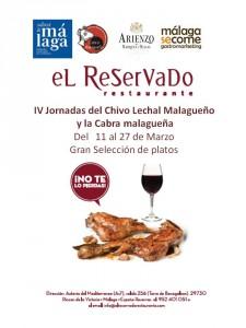 IV Jornadas del Chivo Lechal Malagueño en El Reservado.