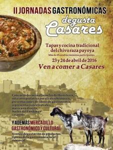 Jornadas gastronómicas en Casares.