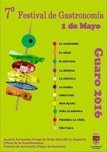 Guaro celebra su festival gastronómico.