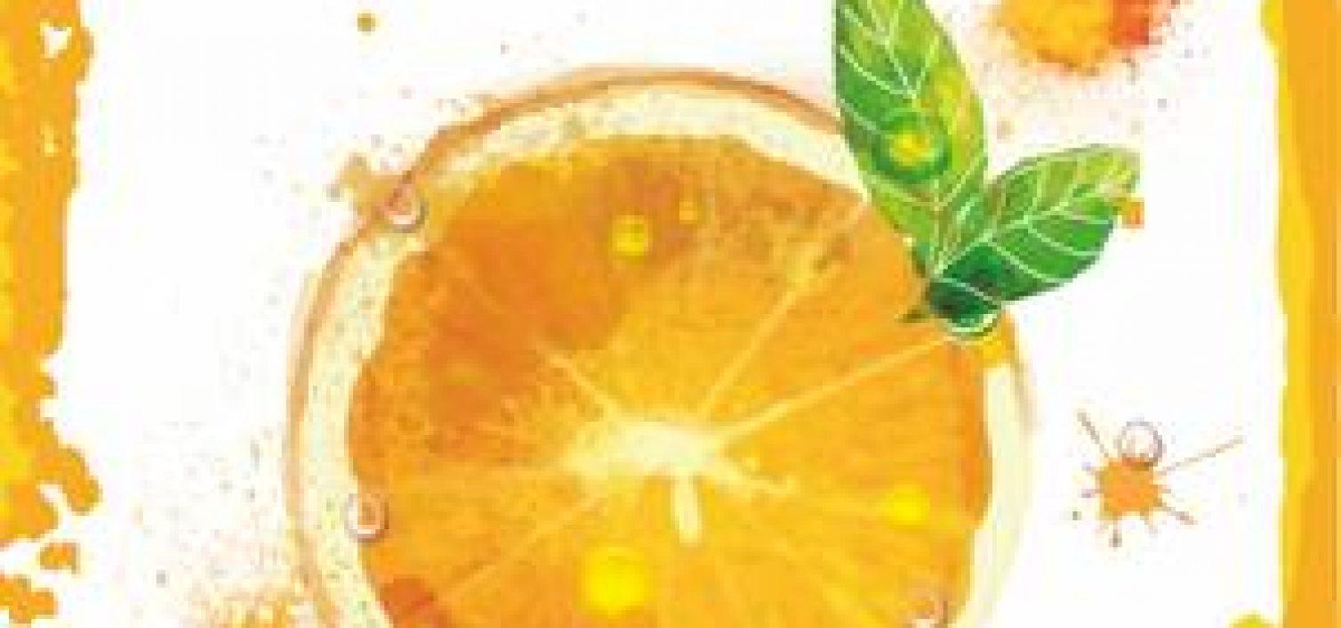 Cartel de la Fiesta del naranja de Coín