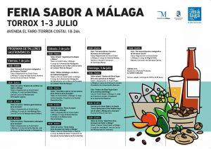Calendario de actividades Sabor a Málaga.
