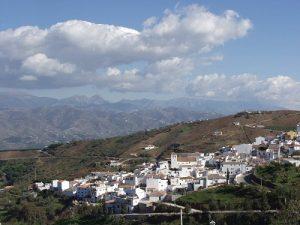 El pueblo de Iznate.