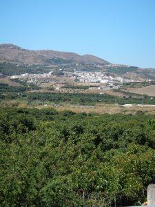 Valle del río Vélez.