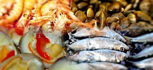 Pescados y mariscos de Málaga