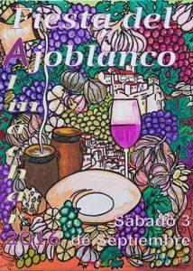 Fiesta del Ajoblanco de Almáchar de 2016.