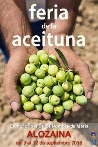 Feria de la Aceituna de Alozaina 2016.