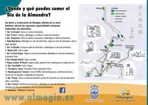 Bares y restaurantes donde comer en Almogía este domingo.
