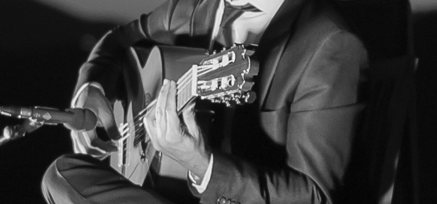 Daniel Casares, guitarrista.
