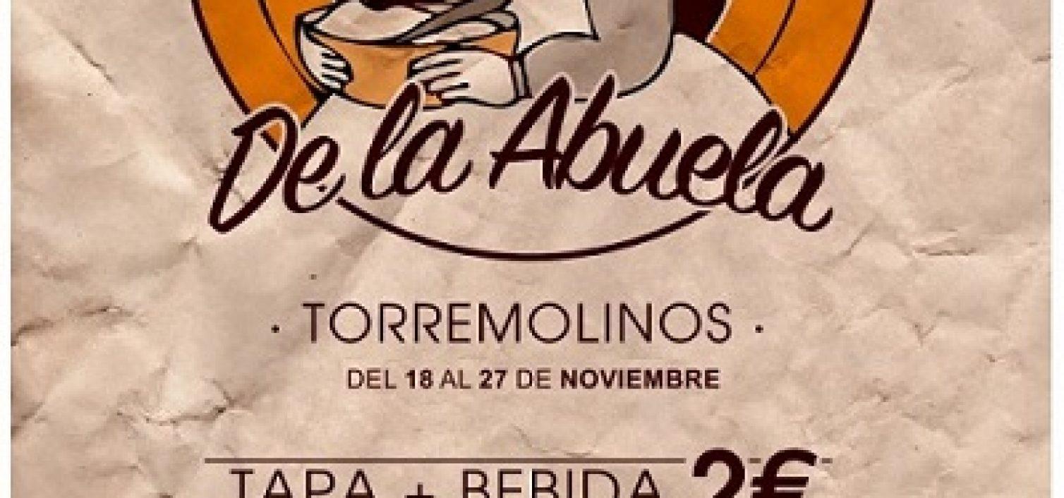 Cartel de la Ruta de la Tapa de la Abuela de Torremolinos 2016