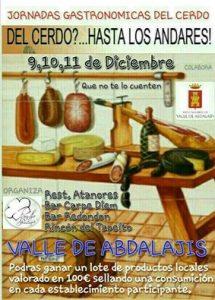 Jornadas gastronómicas de Valle de Abdalajís.