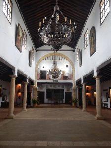Interior Museo de San Benito.