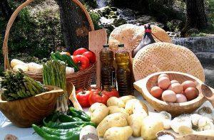 Ingredientes para la receta de la Sopa de los Siete Ramales