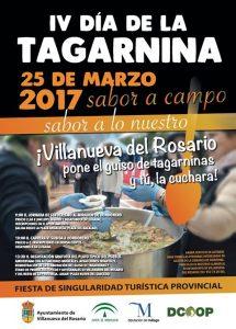 Cartel de la cuarta edición del Día de la Tagarnina.