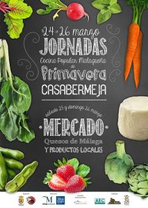 jornadas de cocina popular malagueña de pirmavera en Casabermeja