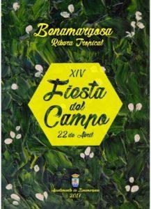 Cartel de la décimo cuarta edición de la Fiesta del Campo de Benamargosa.