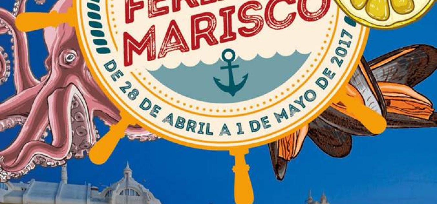 cartel de la feria del marisco de benalmádena 2017