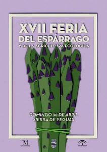 Cartel de la XVII Feria del Espárrago de Sierra de Yeguas.