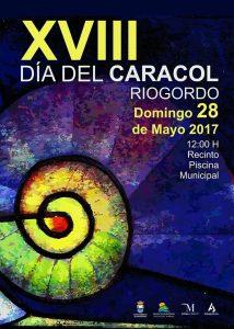 Cartel de la décimo octava edición del Día del Caracol de Riogordo.