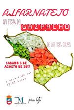 Fiesta del Gazpacho de los tres golpes de Alfarnatejo 2017.