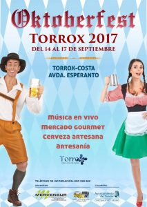 Torrox celebra su Oktoberfest.